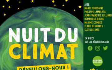 Nuit du climat : réveillons-nous